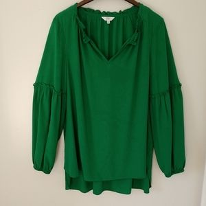 Crown and Ivy Peasant Blouse